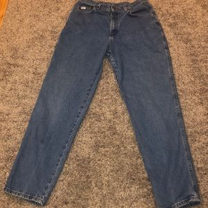 """Lee """"Mom Style Jeans"""" (read description see meas.)"""